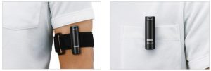 arm band style and clip style