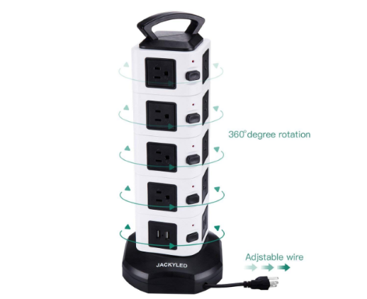 JackyLED Electric Power Strip