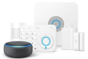 alexa with ring alarm security system