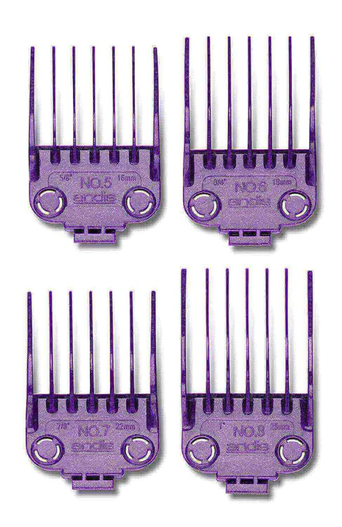 Andis Master Dual Magnet Large 4-Comb Set