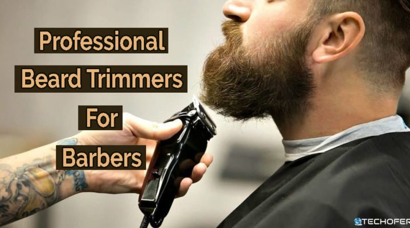 Professional Bear Trimmers For Barbers