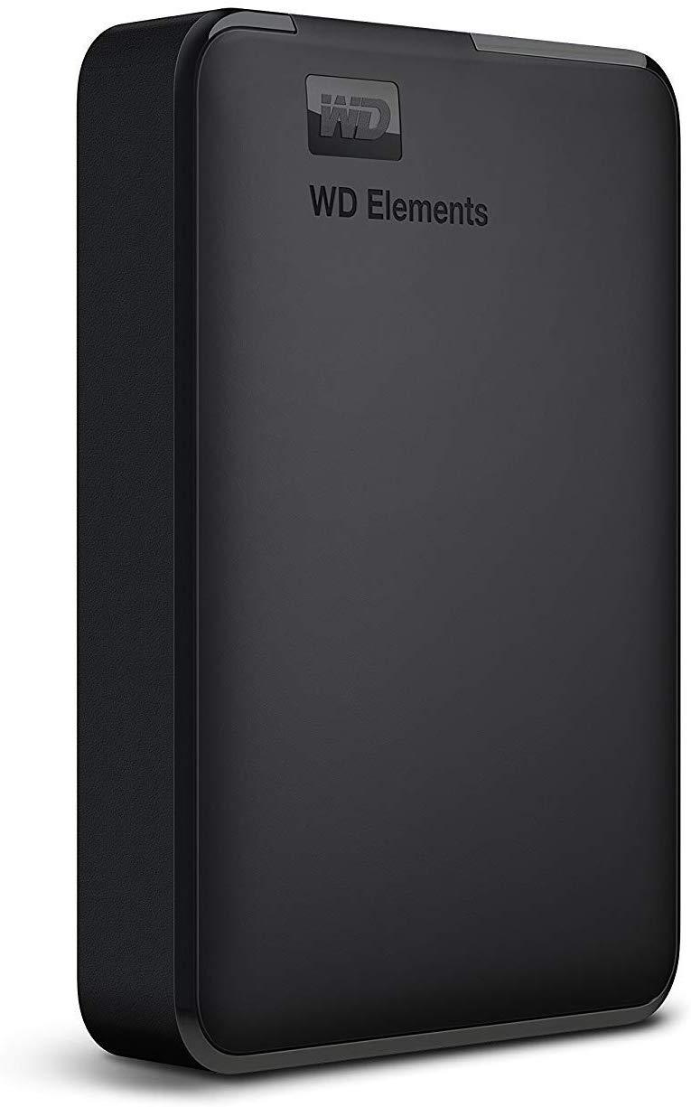 WD 4TB Elements Portable External Hard Drive