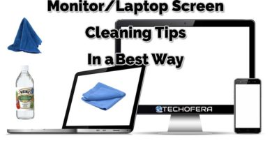 best way to clean a monitor screen