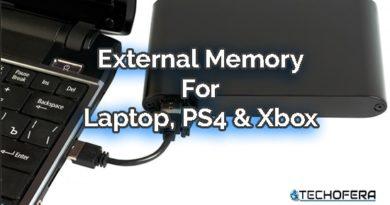 external memory for laptop