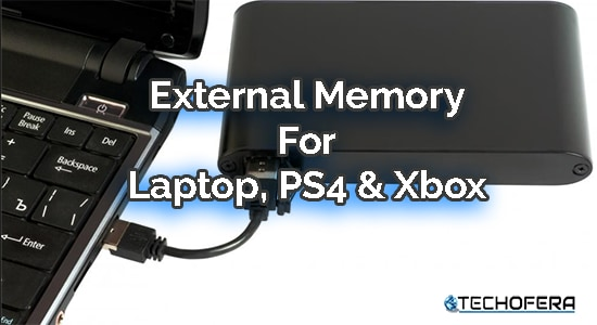 external memory for laptop