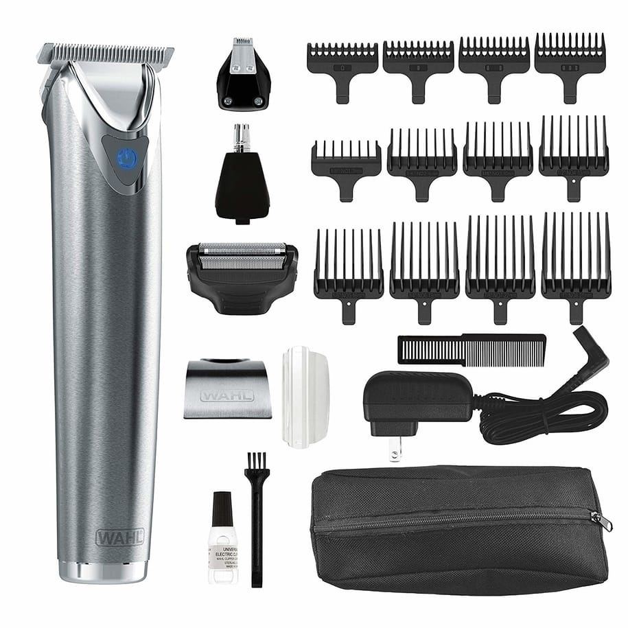 wahl stainless steel litium ion