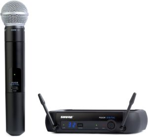 Wireless microphone System for church