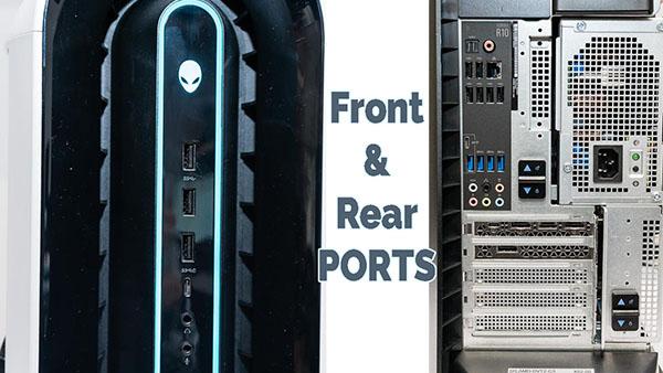 alienware aurora r10 ports