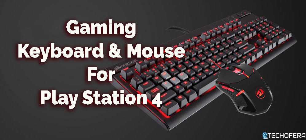 gaming keyboard and mouse for ps4