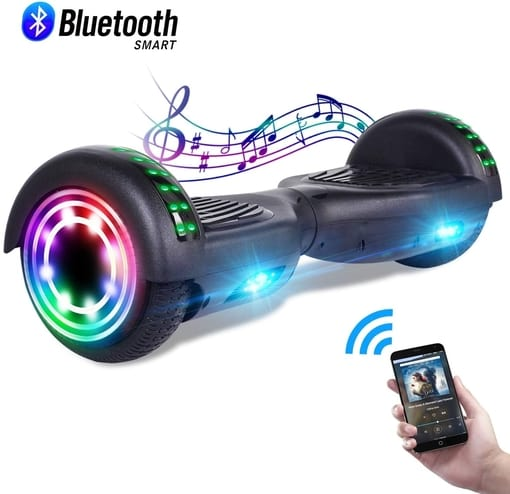 CBD Bluetooth Hoverboard for Kids, 6.5 Inch Two Wheel Hoverboard