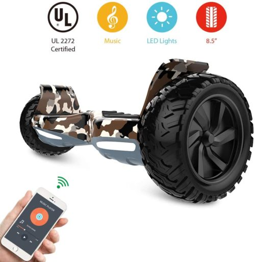 HYPER GOGO Off-Road, Electric Self Balancing All Terrain Hoverboard