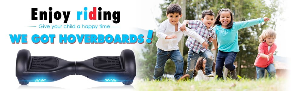 VEVELINE Hoverboard UL2272 Certified 6.5 inch Self Balancing