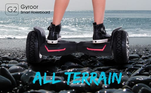 gyroor all terrains hover board