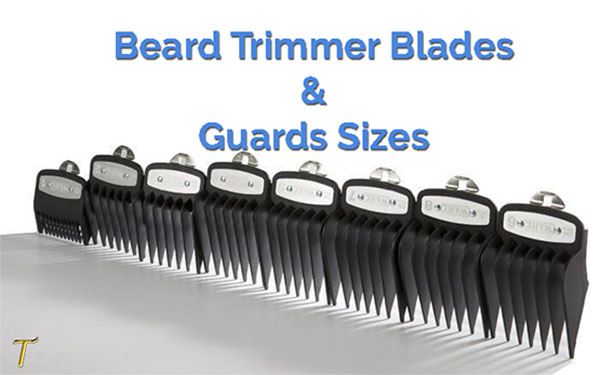 beard trimmer guard sizes