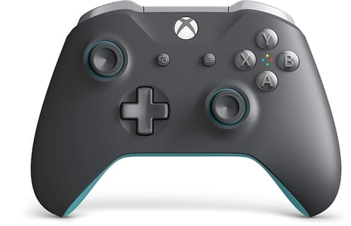 xbox wireless controller grey and blue